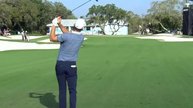 Justin Rose uses nice approach to set up birdie at Arnold Palmer