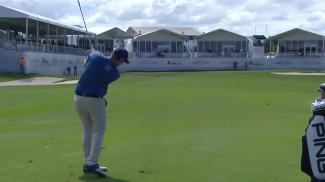 Martin Piller sticks approach to set up birdie at Puerto Rico