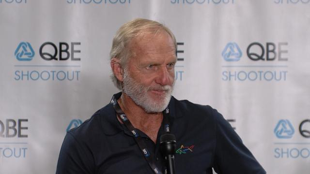 Greg Norman comments beforeQBEShootout