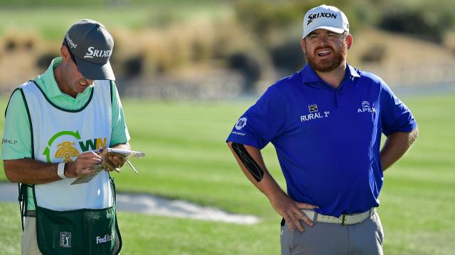 J.B. Holmes takes 36-hole lead into weekend at Waste Management