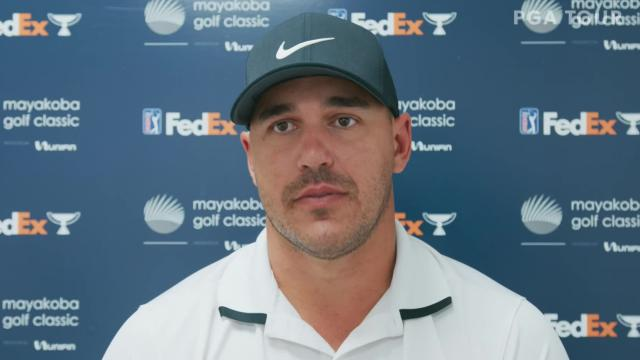 Brooks Koepka on the state of his game before Mayakoba