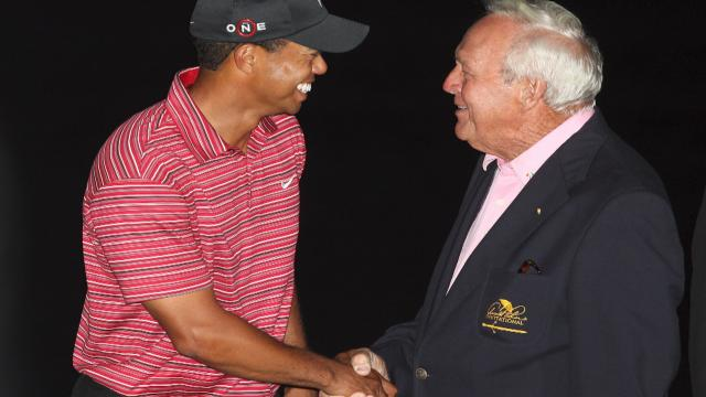 Tiger Woods reflects on playing at Arnold Palmer Invitational