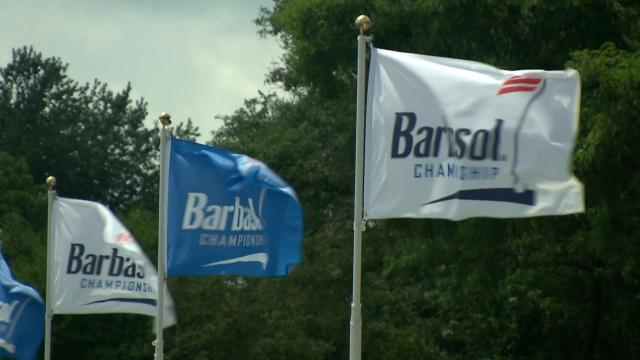 Jim Herman takes the solo lead at Barbasol