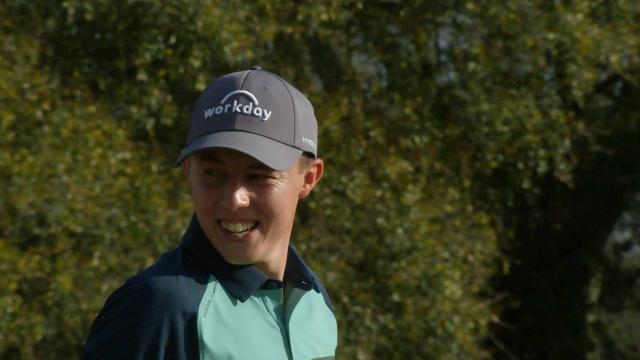 Matthew Fitzpatrick holds 54-hole lead at Arnold Palmer