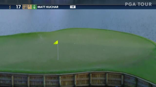 Matt Kuchar nearly aces No. 17 at THE PLAYERS