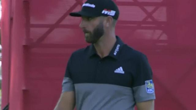 Dustin Johnson's approach inside 6 feet yields birdie at Rocket Mortgage