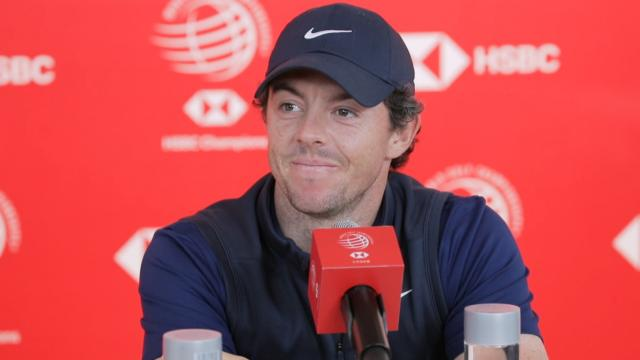 Rory McIlroy offers advice before WGC-HSBC Champions
