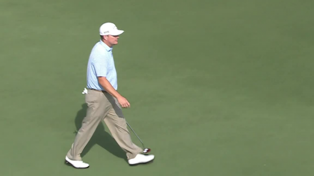 Chad Campbell's lengthy birdie putt at AT&T Byron Nelson