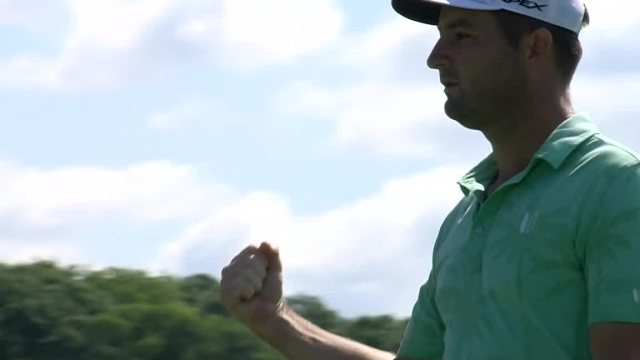 Matt Every's lengthy birdie putt from 35 feet at AT&T Byron Nelson