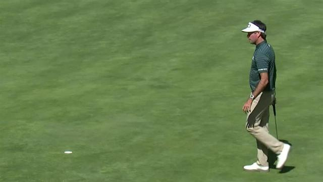 Bubba Watson sinks 14-footer for birdie at WGC-Mexico