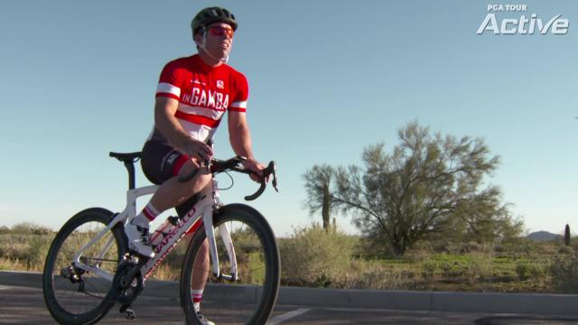 Paul Casey's love of cycling