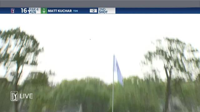 Matt Kuchar birdies No. 16 at RBC Heritage