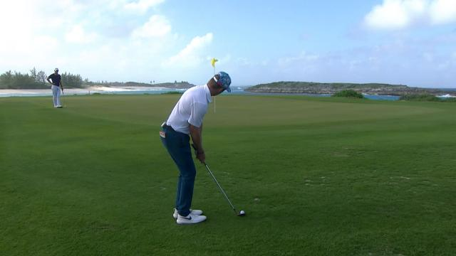 Top-3 shots from Round 2 at the Great Exuma