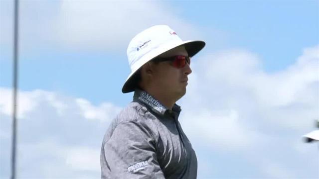 Joel Dahmen jars 16-footer for birdie at John Deere
