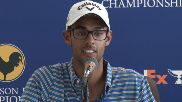 Akshay Bhatia on his 2nd PGA TOUR start before Sanderson Farms