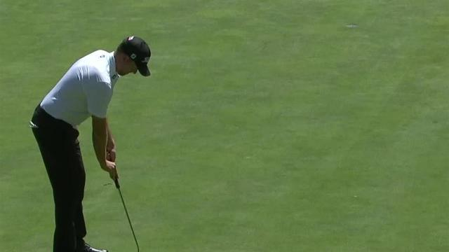 Webb Simpson sinks 26-footer for birdie at WGC-Mexico