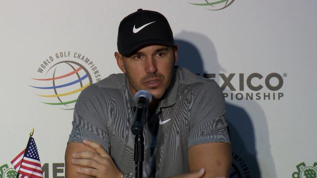 Brooks Koepka interview before WGC-Mexico