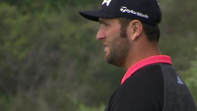 Jon Rahm's approach leads to birdie at Farmers