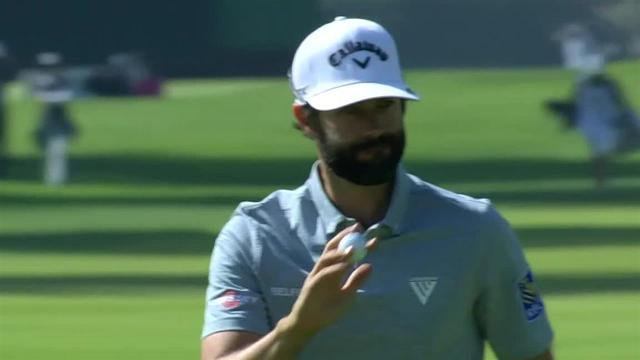 Adam Hadwin's nice approach leads to birdie at Genesis