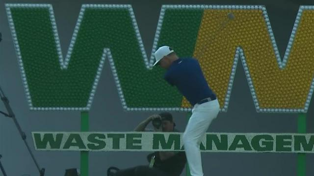 Keith Mitchell's impressive tee shot leads to eagle at Waste Management