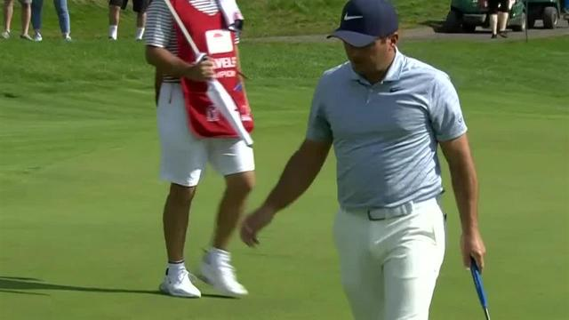 Francesco Molinari cards birdie to start Round 4 at Travelers