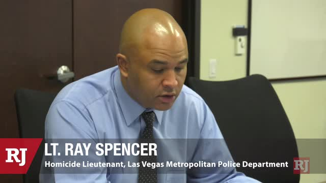 拉斯维加斯评论杂志新闻|都市凶杀案中的雷·斯潘塞(Ray Spencer)讨论了2020年的凶杀案