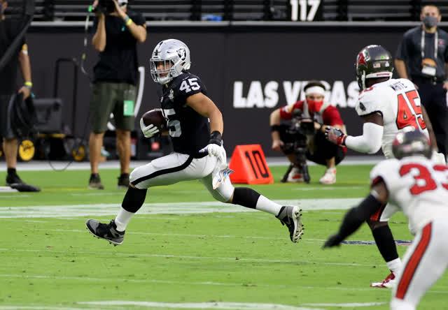 拉斯维加斯审查期刊运动  Alec Ingold代表NFL选秀中的攻略