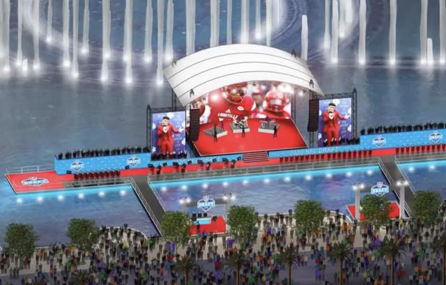 拉斯维加斯审查期刊运动  NFL草案将于2022年来拉斯维加斯