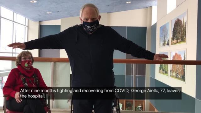 拉斯万博官网app评论杂志没有联合组织| Bethel COVID患者离开医院